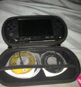 PSP+ 3 игры и чехол