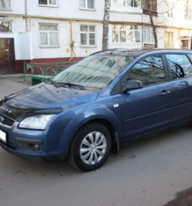 Ford Focus, II 1.8d MT (116 л.с.)