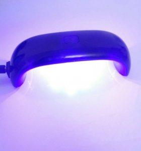 Лампа для гель лака шеллака