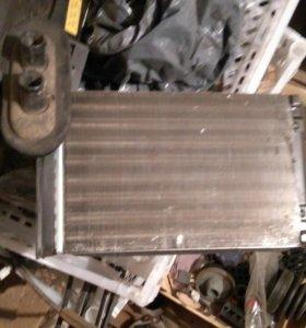 Радиатор и моторчик печки