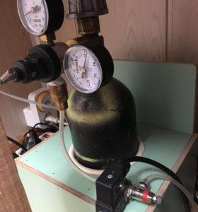 Баллонная система подачи СО2 в аквариум