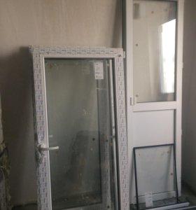 Окно и двери от застройщика