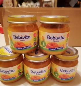 Пюре овощное Bebivita (тыква)