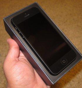 iPhone 5 чёрный 16GB оригинал