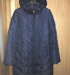 Пальто/куртка демисезонная утеплённая р. 50