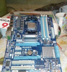 Gigabate Ga 970a amd fx8120 DDR3 8Gb 14900