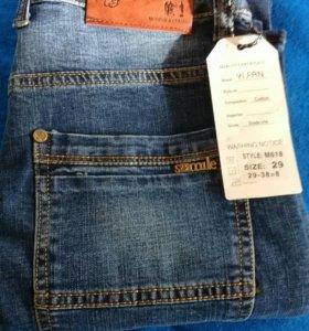Новые 29 р р мужские джинсы