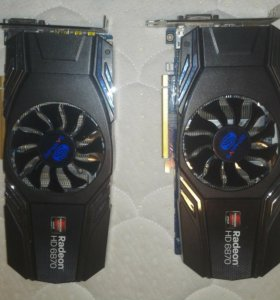 Видеокарты Radeon HD 6870