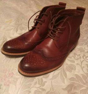 Новые ботинки нат.кожа 42 размер