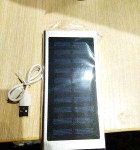 Powerbank 20000 mAh + солнечная батарея