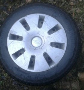 Колеса 195 65 r15 форд фокус резина диски колпаки