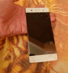 Дисплей (модуль) Sony xperia XA белый