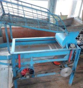 Машина для чистки кедровых орех