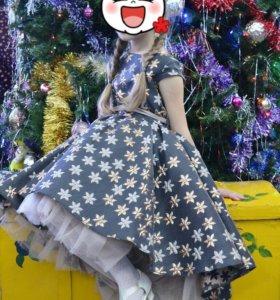 Платье на выпускной для принцески😍