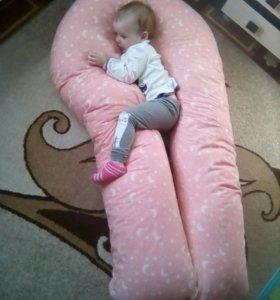Подушка для беременной и кормления