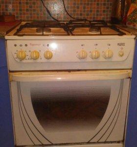 Печка с духовкой