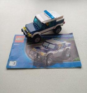 Машинка из лего