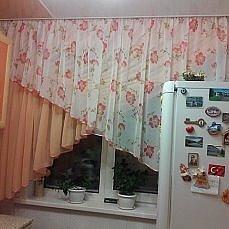 Пошив штор и ламбрекенов.
