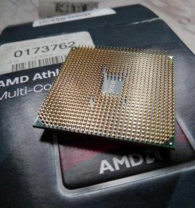 AMD athlon x4 760k +плата asrock fm2a55m-dgs