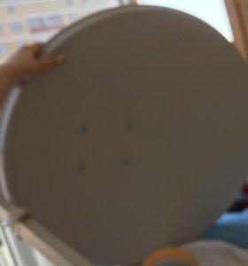 НТВ+ Спутниковая тарелка.