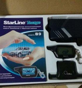 Новая сигнализация Starline B9