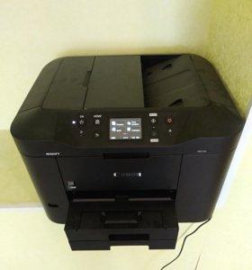 CANON MAXIFY принтер сканер