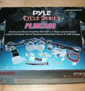 Новая Аудио система для мотоциклов Pyle PLMCA 60