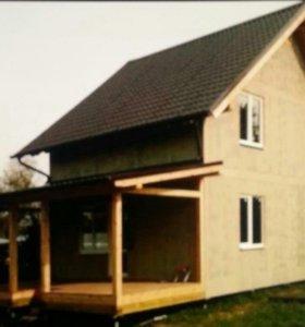 Строительство домов ,бань,фасады