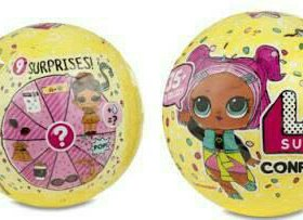 Кукла лол конфетти поп (lol Confetti POP) 3 сезон