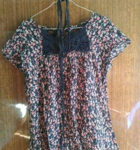 Блуза летняя 48-50 Kiabi