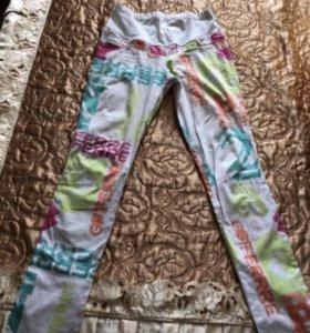 Летние тонкие брюки для беременных 44-46