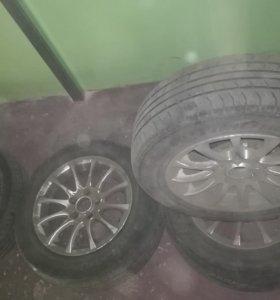 комплект колес (лето)