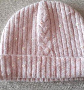 шапка для девочки на 10-12лет
