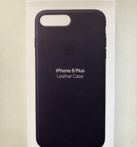 Apple Leather Case для iPhone 7/8 Plus