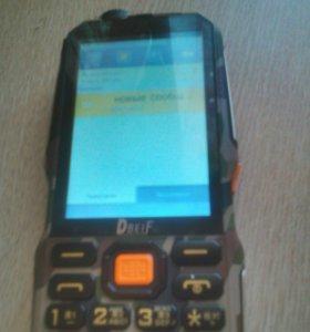 Телефон с большой емкостью батареи 9800 Mah