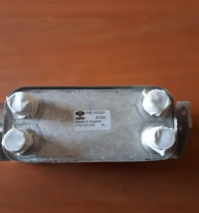 Радиатор масляный Range Rover Sport