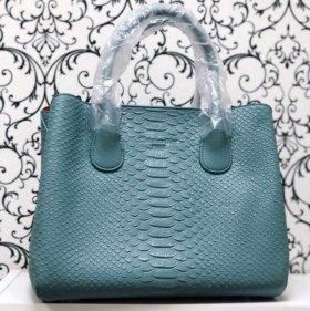Сумка Dior в голубом цвете, новая коллекция'18.
