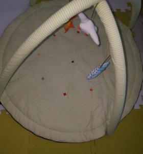 Игровой развивающий  коврик икеа