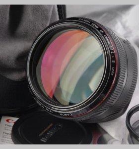 Объектив Canon EF 85 1.2 L II USM