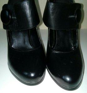 Туфли кожаные BASCONI