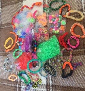 Резинки для браслетов и браслеты