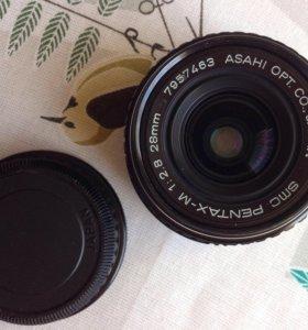 Объектив Pentax M 1:2.8 28mm