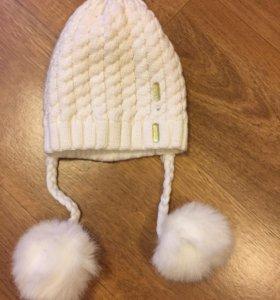 Новая шапочка на весну 4-5 лет.