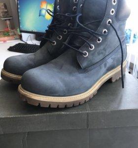 Ботинки Timberland синие