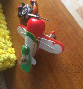Детская игрушка самолёт на радиоуправлении