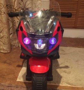 Электро мотоцикл детский(новый)