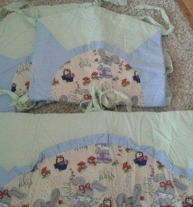 Бортики и балдахин в кровать