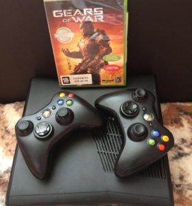 Xbox 360+2 джойстика