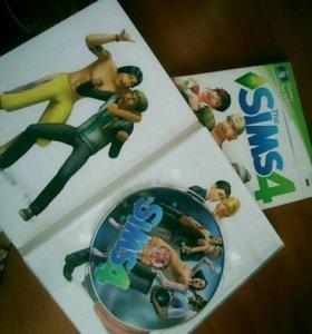 Продам диск The sims 4