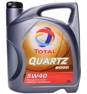 Моторное масло Total Quartz 5W40 синтетика 4 литра